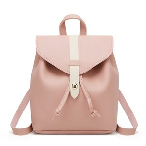 Ladies Contrast Color Mini Bags Fashion Wild Women's Mobile Phone Backpack Female Bags Women Mochila Feminina A1113