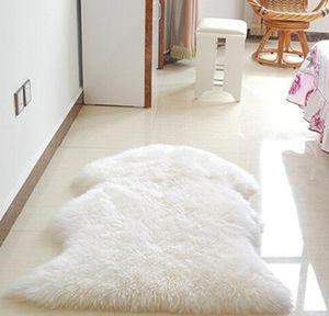 5 Colors Wool Sheepskin Rug Chair Cover Warm Hairy Carpet Seat Pa sqcXTh bdenet