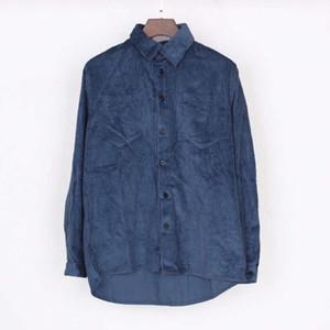 2021 мода мужские рубашки для осенью весенний повседневная мужская уличная одежда рубашка высококачественный мужчина открытый с длинными рукавами одежда 5 цветов