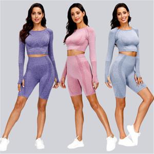 Donne Pantaloni da yoga skinny da donna a vita alta moda Addomen Hip Lift Sport Leggings Pantaloni Pantaloni Femmina Casual Slim Senza Soluzione di fitness Pantaloni