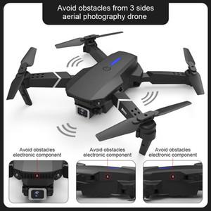 E525 PRO 4K HD Dual Camera Mini Drone, Auto-Obstacle-Avoidance on 3 Side, Track Flight, Smart Follow, Altitude Hold, Kid Toy Xmas Gift, USEU