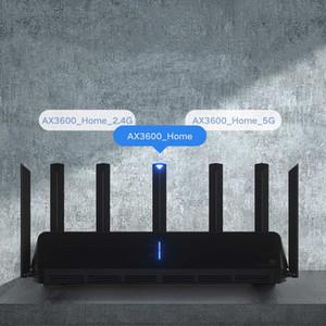 Xiaomiyoubiyoupin Mi AIOT Mar Router AX3600 WiFi 6 Двухдиапазонная 2976 MBS Gigabit Rate WPA3 Шифрование Security Mesh WiFi Внешний усилитель сигнала