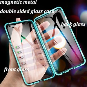 360 Full Protection Magnetic Case For Xiaomi Redmi 9A 9 Note 9 8 7 9S 8T 10X K30 K20 Mi 10 9 9T CC9 Pro F1 Max3 Double Glass