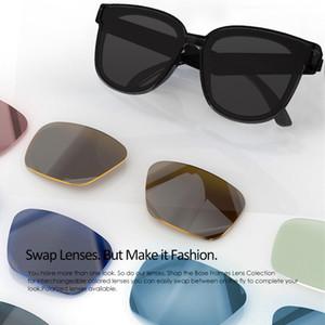 2021 Männer Sonnenbrillen Bluetooth Button Steuerung Technologie Eyewear Frau Designer Sonnenbrille Hände Freies Radfahren Sonnenbrille Smart Audio Gläsern