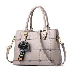 Women Handbag Bags for Women Ladies Handbags Luxury Leather Crossbody Bag Shoulder Bag For Woman Handbag Totes Grey Color