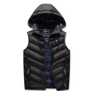2021 chaud, épais hiver de gilets sans manches, vestes pour hommes dans un hotel chaud, gilet en cuir chaud, veste et veste. ZXS3