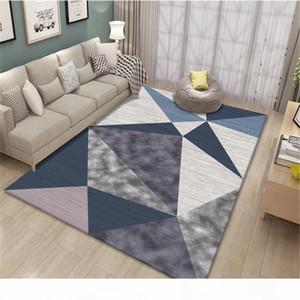Simple Fashion Geometric Corridor Mat Zerbino Bedroom Cucina Tappeti da cucina Decor Area del comodino Tappeto Personalizzato Grande tappeto per soggiorno