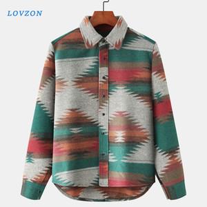 Hip Hop Krawatten-Snap-Taste T-Shirts Männer Art und Weise beiläufige Street Dress Shirt Coats Männer Hipster Shirts Tops