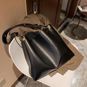 Bucket Tote Large Bag Capacity Fashion Leather Women's PU Shoulder Casual Designer Handbag High 2021 High-quality New Bag Iiqmr