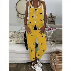 Womens Fashion Casual Loose Jumpsuit Dungarees Playsuit Trousers Overalls Vintage Baggy Pants 2019 Streetwear Summer Clothes