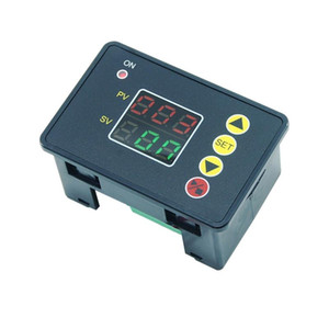 OOTDTY 12V 24V 110V 220V LED Digital Display Time Delay Relay Switch T2310 Normally Open Microcomputer Time Controller