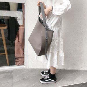 Designer-Fashion Women Buckets Bag Nubuck Leather Shoulder Bags Womens Handbags Large Capacity Female Messenger Bag Vintage Totes Purses