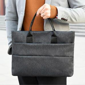 Briefcases Men Business Briefcase Man Casual Shoulder Messenger Bag Men's Handbag Cross Section Laptop Bag