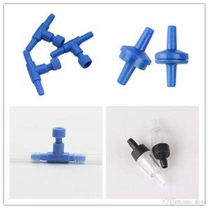 100pcs / lot 수족관 공기 흐름 밸브 Cotroller 체크 밸브 공기 펌프 에어 튜빙 커넥터 항공 밸브 액세서리