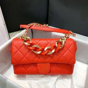 Designers Shoulder Hot Luxurys Pkkp New Fashion Top Sold Women Shipin Bag Leather Grid Classic Quality Genuine Designers Bag Rhombic Fr Jtut