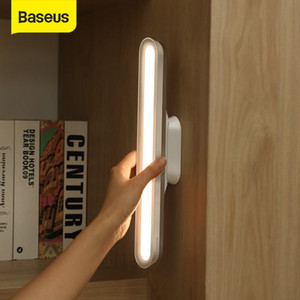 Baseus Desk Lamp Hanging Magnetic LED Table Lamp Chargeable Stepless Dimming Cabinet Light Night Light For Closet Wardrobe FY7502