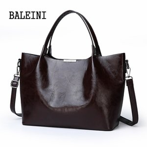 2020 Summer New Style Women Borsa Borsa Borsa Borsa Over Spalla Crossbody in pelle Big Brand Black Brown Casual Designer Femminile Bolsas C1223