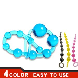 Anal Beads SexToysforWomen Men Gay Plug Play Pull Ring Ball Anal Stimulator Butt Beads G spot