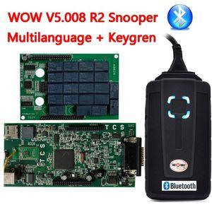 2020 NOUVEAU V5.008 R2 Snooper Wurth CDP VD DS150E CDP PRO 5.00.8 R2 Bluetooth pour Delphis Delphis OBD2 Tools Tools Camion Voitures