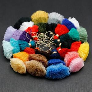 1 PZ 75mm 3 Colori Poliestere nappa Trims Cotton Silk Nappa Trim per la decorazione domestica FAI DA TE Accessori tenda per cucire H BBYSBOO