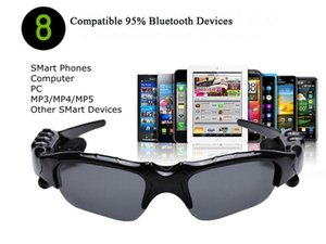 2019 New Outdoor Glasses Bluetooth Sunglasses Headphones Stereo Wireless Sport Riding Song Call Ear Buds Earphone