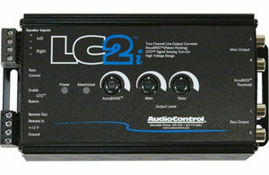 NEW AudioControl LC2i, 2 Channel Line-Output Converter with AccuBASS