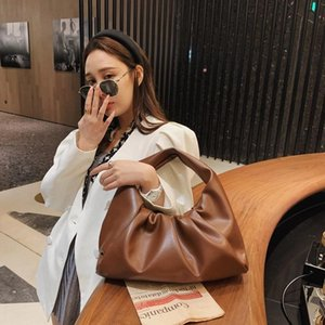 Soft PU Leather Top-Handle Bags For Women 2021 New Ladies Clutches Purse Fashion Shoulder Bags Designer Luxury Handbags Female