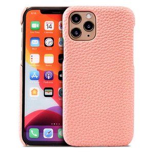 Adequado para iPhone12Pro XS Max Couro Phone Case PU Lychee Pattern Holster de Proteção All-Inclusive