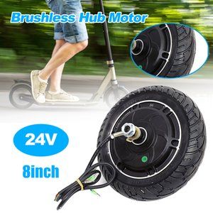 DHL 350w Electric Scooter Hub Wheel Brushless Motor 48V 36V 24V optional Toothless Electric Scooter Parts ebike Accessories Engine