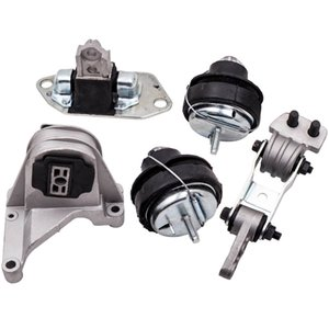 5Pcs Engine Motor Mount Set fits for Volvo S60 2001-2004  V70 2001-2007  XC70 2003-2007  XC90 2.5L 2003-2006 for A7084 A4001 A4003 30748811