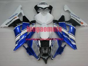 Bodywork blue white black YZF R6 2008 2009 2010 2011 2012 2013 2014 2015 2016 Injection Plastic ABS Fairings Kit For Yamaha YZF-R6 body kits