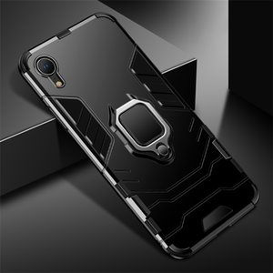 Armor design personalized mobile phone case all inclusive phone cover with phone holder for XR