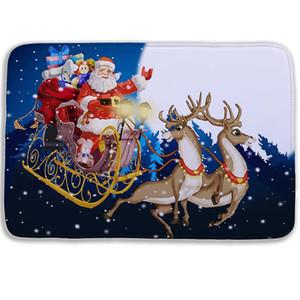 Neue 3D Weihnachten Memory Foam Bad Matte Delphin Badezimmer Teppich Rutschfeste Badematten 26 Typ 40 * 60 cm Badezimmermatten mit BWC3826