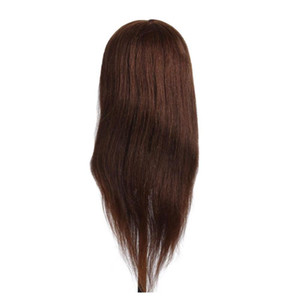 100% Real Human Hair Styling Mannequin Heads Hairstyle Hairdressing Dummy Hair Training Head Doll Female Mannequin qyluSk hotclipper