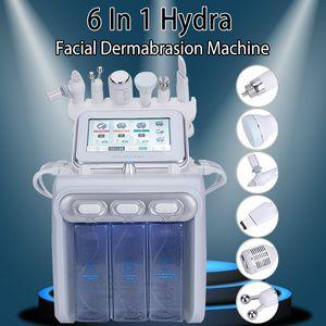 Hot Sale 6 In 1 Hydrafacial Dermabrasion Oxygen Facial Skin Care Water Peeling Microdermabrasion Beauty Machine