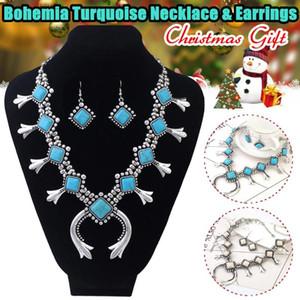 Bohemia Blossom Necklace Women Resin Stone Necklaces Pendants Jewellery Statement Necklace Femme Fashion