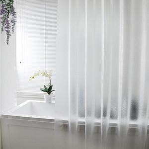 Wasserdichte transluzente Duschvorhang Badezimmer Vorhang Punch-freie Luxusbad Cortina de Bano Elefant Badezimmer Vorhänge