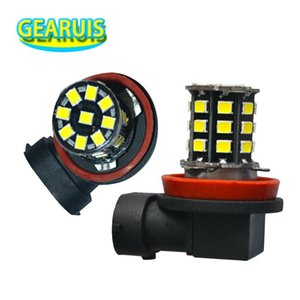 High Quality H8 H9 H10 H11 33 SMD 2835 LED 360MA Car Auto Driving Fog Light Lamp Bulb Pure White Blue Red Yellow 12V