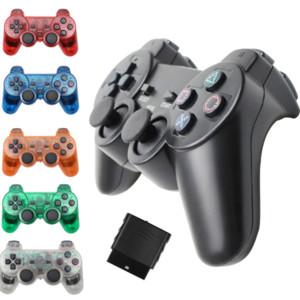 Gamepad inalámbrico para Sony PS2 Controlador para PlayStation 2 Consola Joystick Doble vibración Choque Joypad Controle inalámbrico
