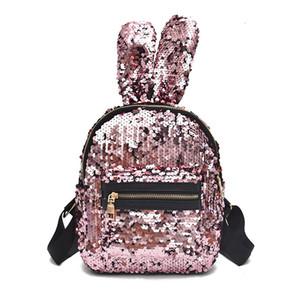 HBP Loisirs non marqués Nouvelle mode Sac à dos de mode Rabbit Sac à dos à l'oreille Grand Capacité Travel College Fashion 2 Sport.0018