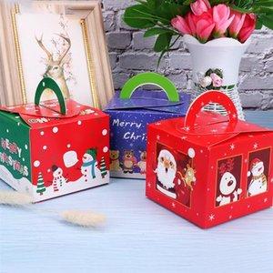 20pcs Navidad Eva Caja de manzana caja de regalo postre cajas de envolver navidad christmas caramelos suplementos1