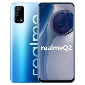 Original Realme Q2 5G Mobile Phone 4GB RAM 128GB ROM MTK 800U Octa Core Android 6.5 inch Full Screen 48.0MP Fingerprint ID Smart Cell Phone