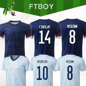 Nuova Scozia pullover di calcio 2020 2021 ROBERTSON MCTOMINAY maglia da calcio set casa CHRISTIE McGREGOR McGinn DYKES Uomo Bambini Camis via uniformi