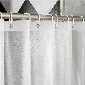 New Brand Frosted EVA Matte Silk Translucent Shower Curtain Thick 3D Bath Curtains Waterproof Bath Screen for Bathroom Z1127