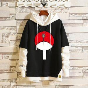 2020 Kakashi Anime Sweatshirts Cosplay Costume Hoodies 3D Classic Men Women Hoodie Naruto Clothing Fake Hip Hop Two Piece
