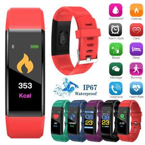 NEW Fitness Tracker Sports Smart Watch With Blood Pressure Heart Rate Bracelet Screen Smart Electronics Bracelet Watch