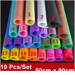 50x90 см 10 простыни белая пена бумага пениамиран красочные EVA Craft Paper Paper Diy материалы нарезать Pog Pogers Украшение для Jllwqk