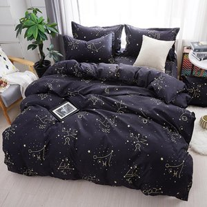 59 Home Textile Galaxy Star Bed Constellation Duvet Cover Bedding Set Twin Full Queen King Size 3 4Pcs Pillowcases Bed Sheet