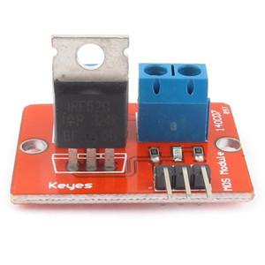 5PCS MOSFET Bouton IRF520 MOSFET Module de pilote pour Arduino ARM Raspberry Pi