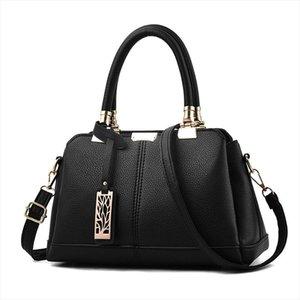 Women Bag Vintage Casual Tote Fashion Women Messenger Bags Shoulder student Handbag Purse Wallet Leather 2020 New